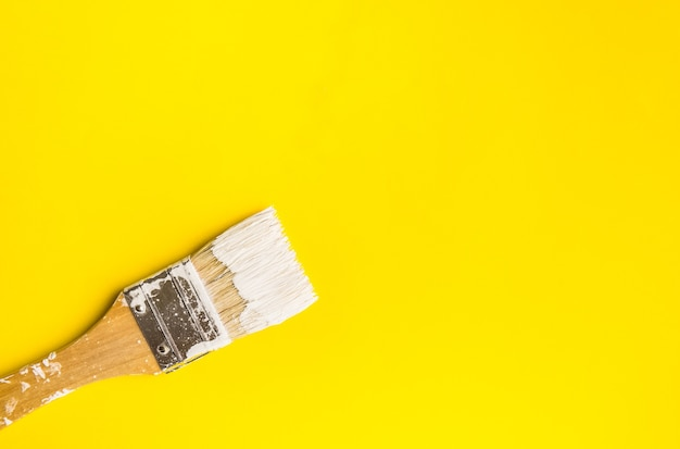 Pędzel na papierze kolor tekstury tła sztuka koncepcja