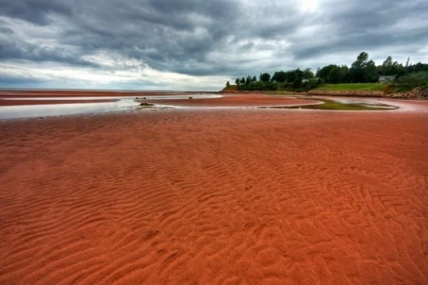 Pei plaża krajobraz hdr