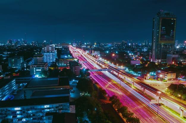 Pejzaż miejski w bangkok