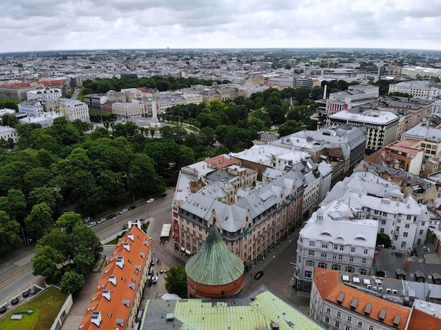 Pejzaż w rydze, stolicy łotwy