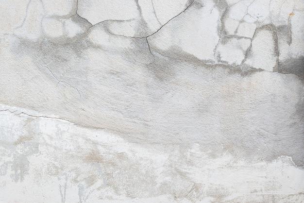 Pęknięcia w starych cementowych ścianach. koncepcja budowy.
