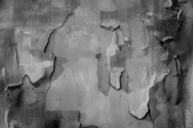Pęknięty tekstura tło ściany betonowej
