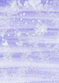 Pełna klatka z fioletowym i białym akwarela teksturowanej tło