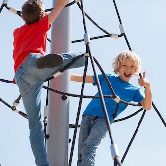 Pełna lina wspinaczkowa dla dzieci