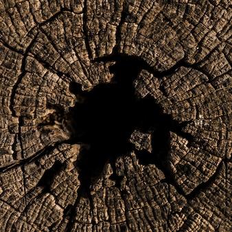 Pełna rama strzał drewniany textured