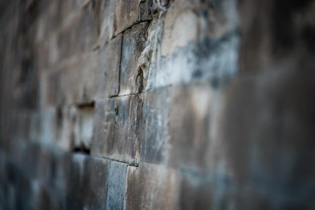 Pełna ramka ceglanego muru