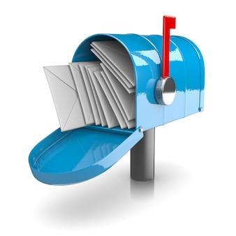 Pełna skrzynka pocztowa