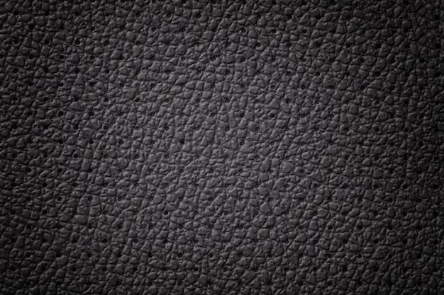 Perforowana tekstura czarnej skóry z gradientową ramką