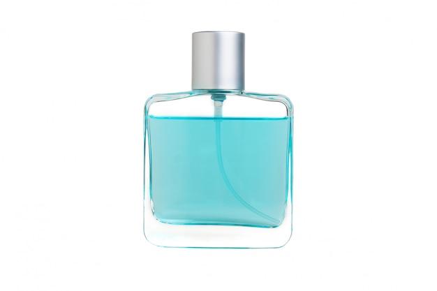 Perfumy na białym tle