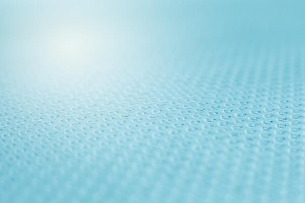 Perspektywa plastikowych bąbelków. streszczenie kolorowe tło.