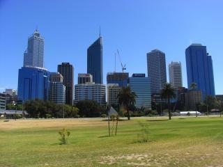 Perth panoramę miasta, miasta