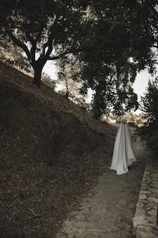 Phantom spaceru w parku
