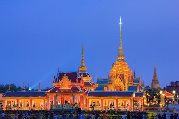 Phra meru, thai royal crematorium, bangkok, tajlandia,