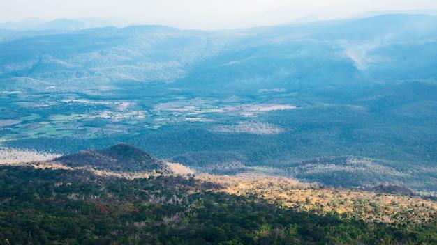 Phu kradueng national park, tajlandia.