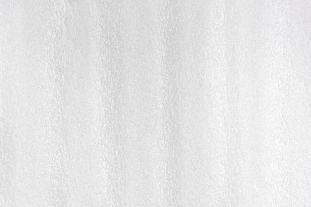Pianka biała plastikowa tekstura.