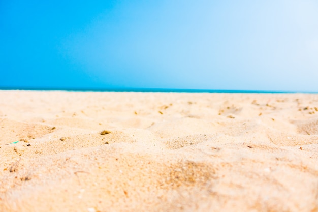 Piasek na plaży
