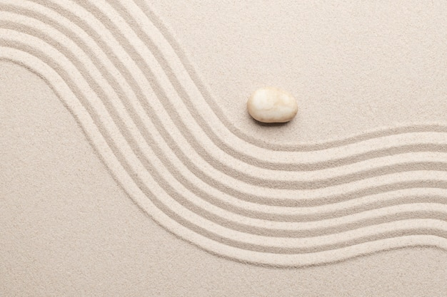 Piasek tekstura powierzchni tło sztuka równowagi koncepcja