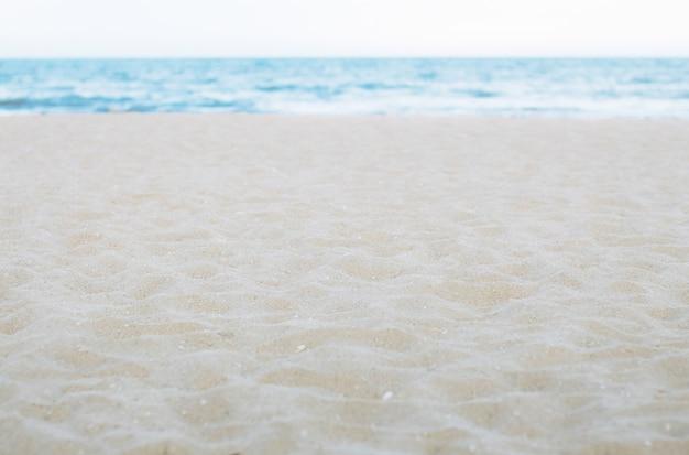 Piaszczysta plaża piękna przyroda.