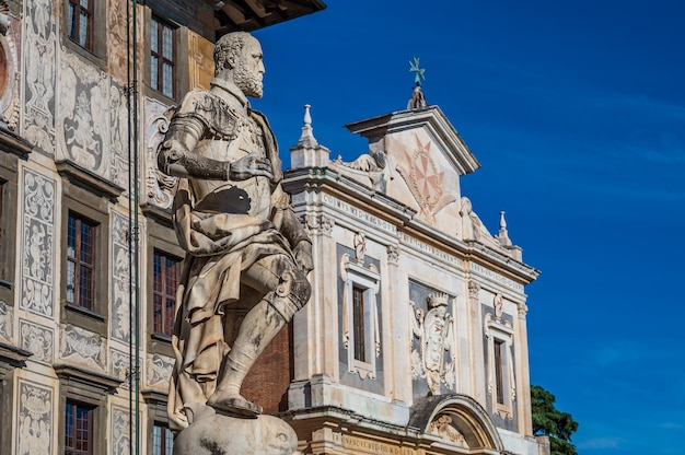 Piazza dei cavalieri (plac rycerski) to drugi główny plac w pizie