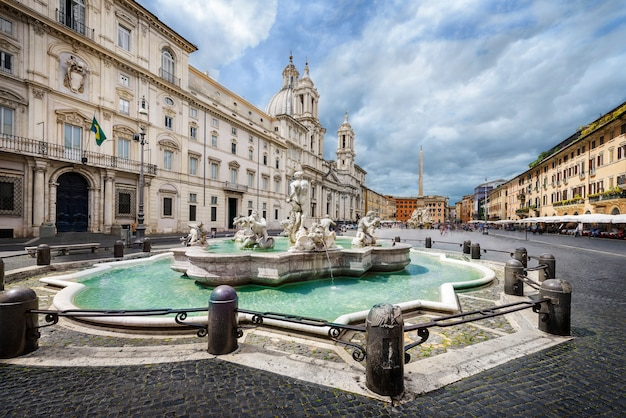 Piazza navona, rzym, włochy