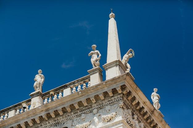 Piazza san marco w wenecji, włochy, europa.