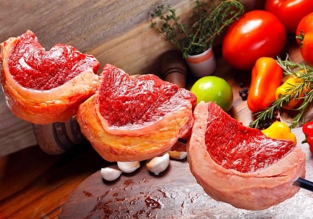 Picanha, tradycyjny brazylijski grill.