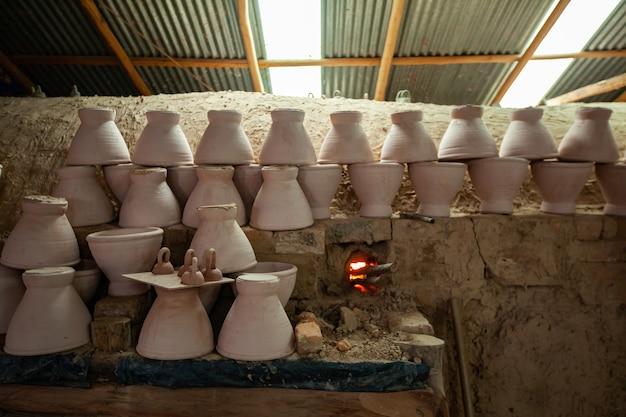 Piec do gliny termitowej