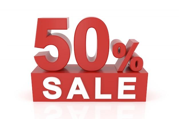 Pięćdziesiąt procent sprzedaży