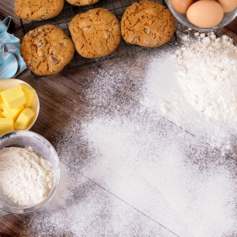 Pieczenie ciasteczek ze składnikami