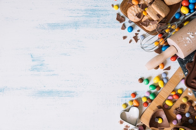 Pieczone na wielkanocnych słodyczach