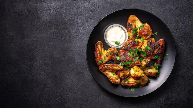 Pieczone skrzydełka z kurczaka po meksykańsku.