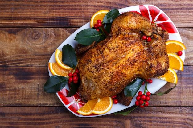 Pieczony cały kurczak