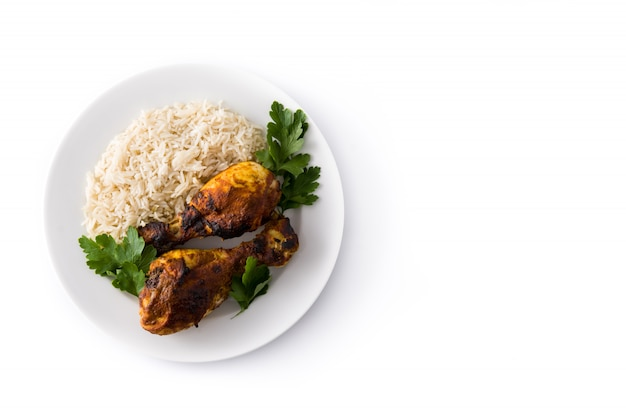 Pieczony kurczak tandoori