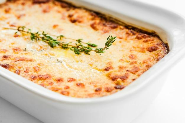 Pieczony ziemniak z serem