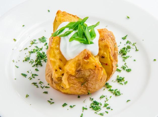 Pieczony ziemniak