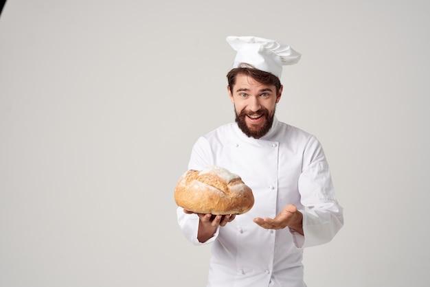 Piekarz kuchnia praca produkty piekarnicze przemysł kulinarny