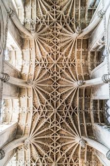 Piękna architektura christ church cathedral w oksfordzie w wielkiej brytanii