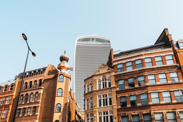 Piękna architektura i budynek w londynie