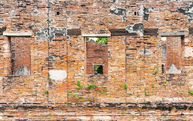 Piękna architektura zabytkowej ayutthaya w tajlandii
