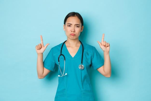 Piękna azjatycka pielęgniarka