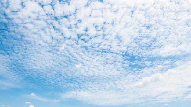 Piękna biała chmura