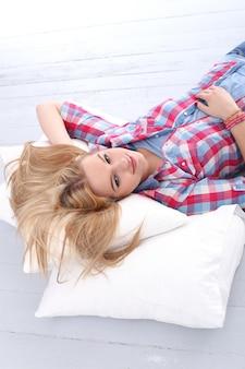 Piękna blondynka