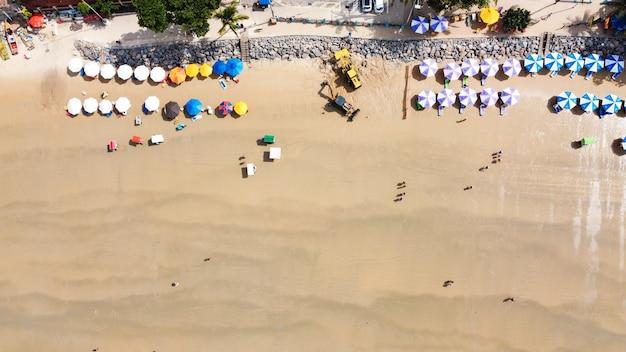 Piękna brazylijska plaża położona na północnym wschodzie