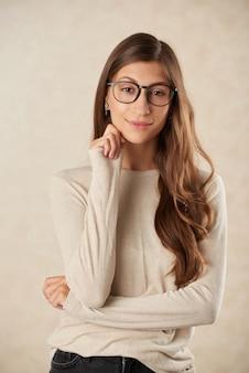Piękna brunetka