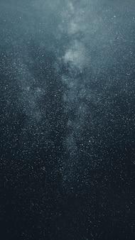 Piękna droga mleczna na telefon komórkowy na nocnym niebie