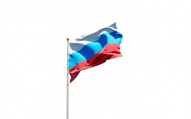 Piękna flaga państwowa rosji