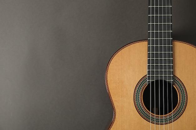 Piękna gitara klasyczna