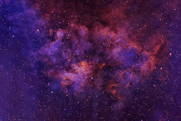 Piękna głęboka przestrzeń z gwiazdami i jasnymi obszarami elementy tego obrazu zostały dostarczone przez nasa
