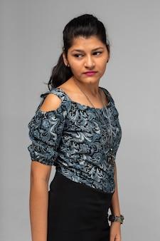Piękna indyjska kobieta