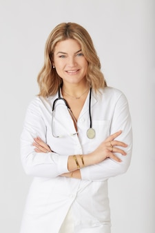 Piękna kobieta lekarz